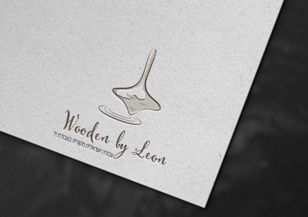 עיצוב לוגו לעסק בסגנון קווי וידני נקי לעסק עץ
